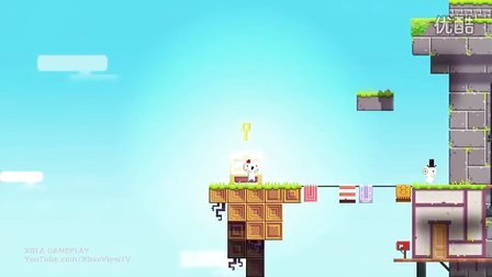 GDC 2012 获奖大作 《Fez》游戏演示视频