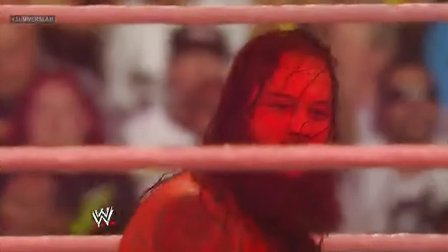 WWE.Summerslam.2013 Kane vs bray Wyatt  火焰赛