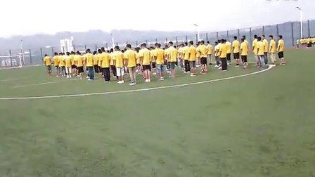 水富一中2013年高一学生军训影像