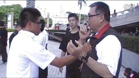 金立言教官手法示範(大內八極,2013年7月21日)