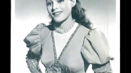 """花腔女高音 Roberta Peters """"亲爱的名字 Caro nome"""" 1956"""