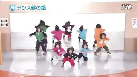 日本女孩超有创意舞蹈震撼舞台