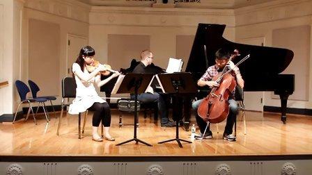 贝多芬钢琴三重奏-大公-第一、二乐章