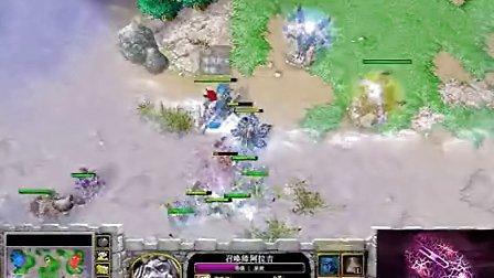 【双魔牌无脑杀】魔兽争霸大帝解说 [雷神杯]ZhouXixi vs WFZ EI
