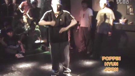 一段机器舞,超酷