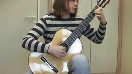 F.Sor - Study 6 op.6 A-Dur ; Eugen Drabynka