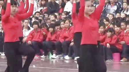 第三套全国中学生广播体操舞动青春:隆安县第三中学