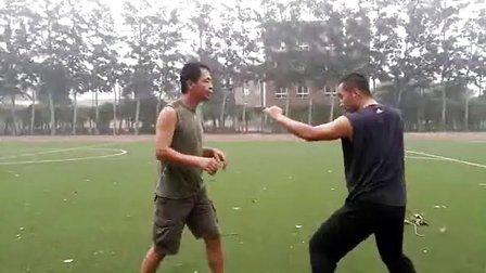北京八极拳俱乐部实战训练(三)
