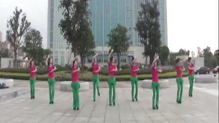 靖江韵律广场舞---《一生无悔》