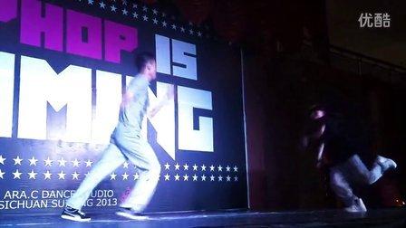 遂宁 Hiphop Is Coming JUDGE  Solo
