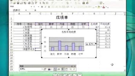 洪恩轻松教你学电脑办公学习Excel之绘制图表