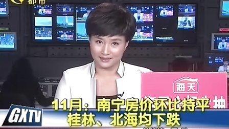 11月南宁房价环比持平 桂林北海均下跌111218新闻在线