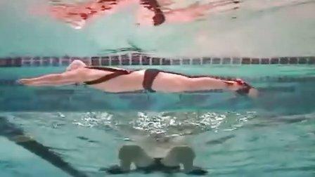 21腿部动作摩西蛙泳