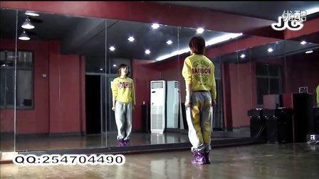 爵士舞教学《JC教你学跳舞》14期——黑发尤物_分解教学4