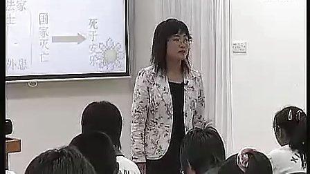 生于忧患死于安乐八年級初中語文优质课展示课視頻專輯 1