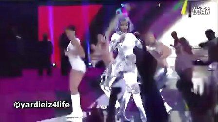 麻辣鸡Nicki Minaj做客2012年NBA全明星赛激情串烧热单震撼全场!