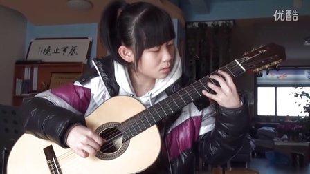 吉他独奏《天空之城》