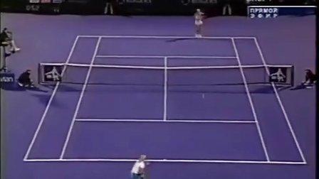 2004年 WTA蒙特利尔站第3轮 兹沃娜列娃 VS 莎拉波娃 Highlight