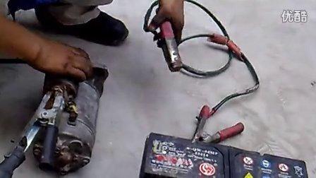 汽修培训学校--车博士刺客汽车实验室制作--拆装启动机实训