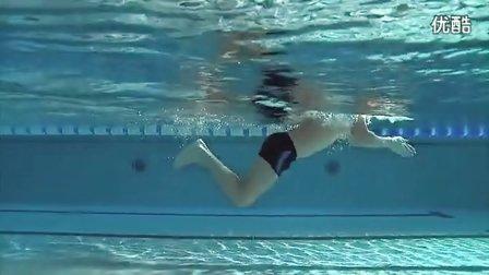 蛙泳、正确的水下踢腿技巧