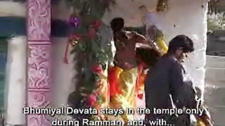 拉曼:印度喜马拉雅山脉加瓦尔的宗教仪式