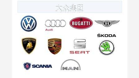 全球主要汽车集团及旗下品牌简介