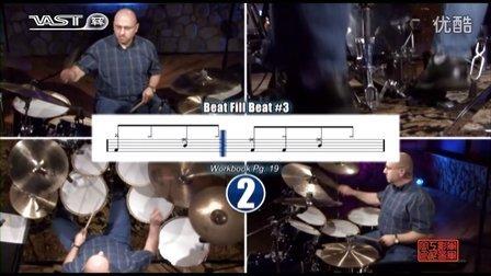 【跟我学架子鼓】加花练习《Drum Fill System》初级_002