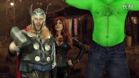 Avengers Assemble! One Direction Parody of What Makes You Be
