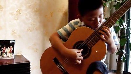 古典吉他独奏   泪   李家梁(9岁)