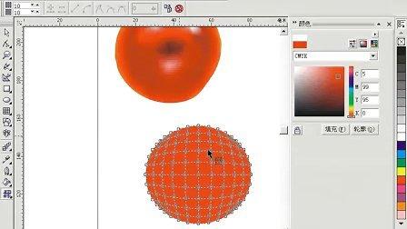 《CorelDRAW 12入门与实例》视频教程21