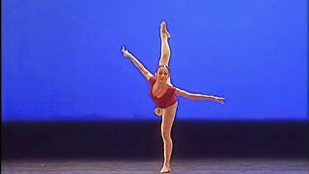 桃李杯女子舞蹈基本功比赛 31