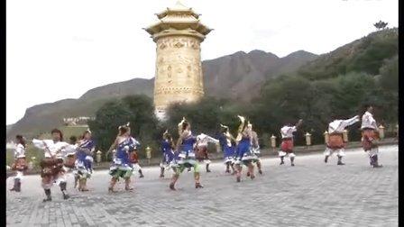 甘肃省张掖市肃南裕固族自治县健身操队2/1