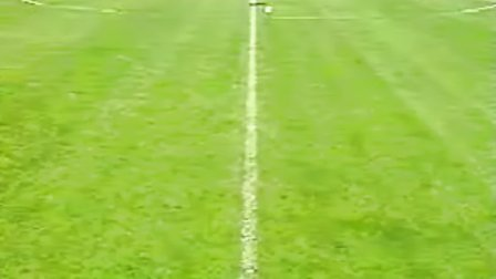 基础足球技术 脚背外侧踢球