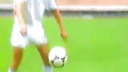 基础足球技术 胸部停球