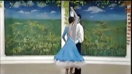 杨艺教你跳探戈03西班牙造型 三连步 世纪舞步