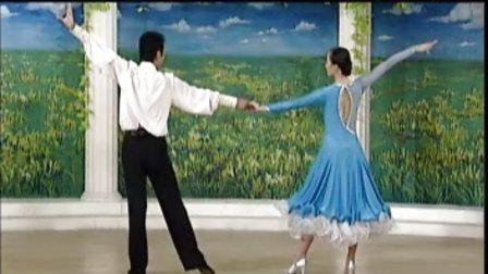 杨艺教你跳探戈11世纪舞步  孔雀开屏  V字造型