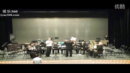 美国蓝盾中学管乐团 风尚剧场演奏