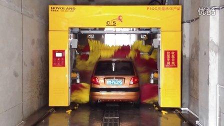 山西运城加盟店卡乐仕·CNS洗车机之龙门往复式洗车机洗车视频