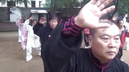 牡丹江市人民公园郑树山太极拳培训中心太极晨练(一)