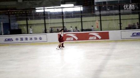 2013全国花样滑冰大奖赛——宋林书刘雨SD