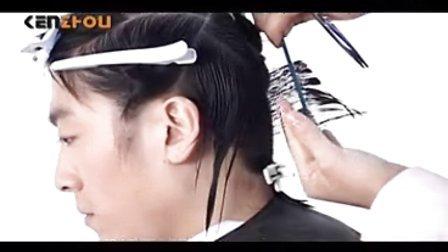 男士短发剪发 吹风造型 烫发染发
