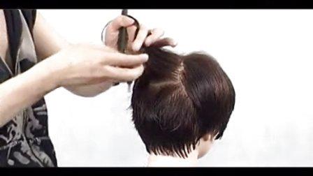 剪发技巧 剪发步骤 美发剪发 教学视频