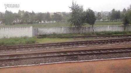 朝鲜 农村 火车随拍2