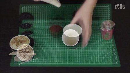 【趣味教学】特浓咖啡咖啡拿铁杯蛋糕!卡布奇诺