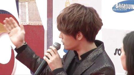 [HankookiTV]JYJ 金在中 首尔电视剧大赏 红毯+采访