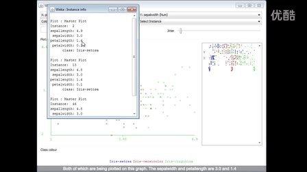 Weka在数据挖掘中的运用1.6 (英文字幕)