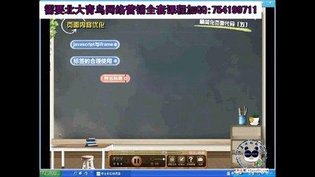 北大青鸟课程之网站页面内容优化2!