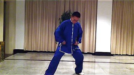 杨大卫讲解传统杨式太极拳85式---第12课抱虎归山_标清