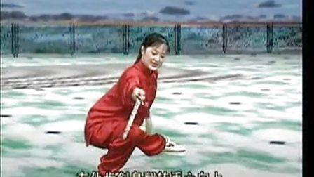 吴阿敏42式太极剑7 (22-27)式