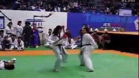 【侯韧杰 TKD 表演篇】之 跆拳道群殴